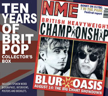 10 Years Of Britpop Collector's Box Unauthorized