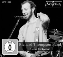 Richard Thompson - Live At Rockpalast [3CD+2DVD]