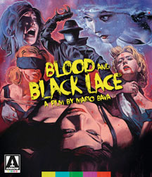 Blood And Black Lace [Dual Format Blu-Ray/DVD]
