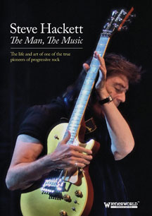 Steve Hackett - The Man, The Music