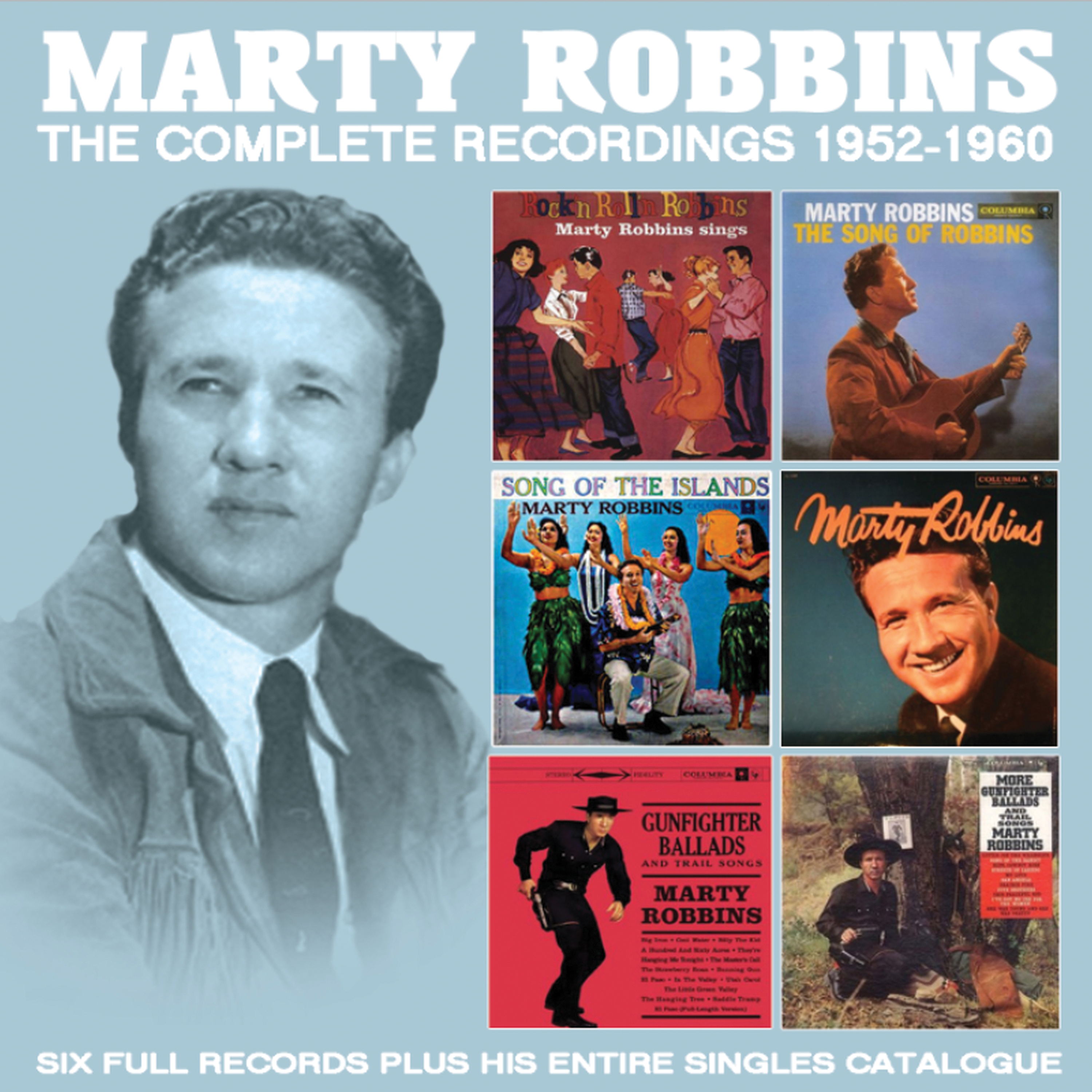 Marty Robbins The Complete Recordings 1952 1960 Mvd