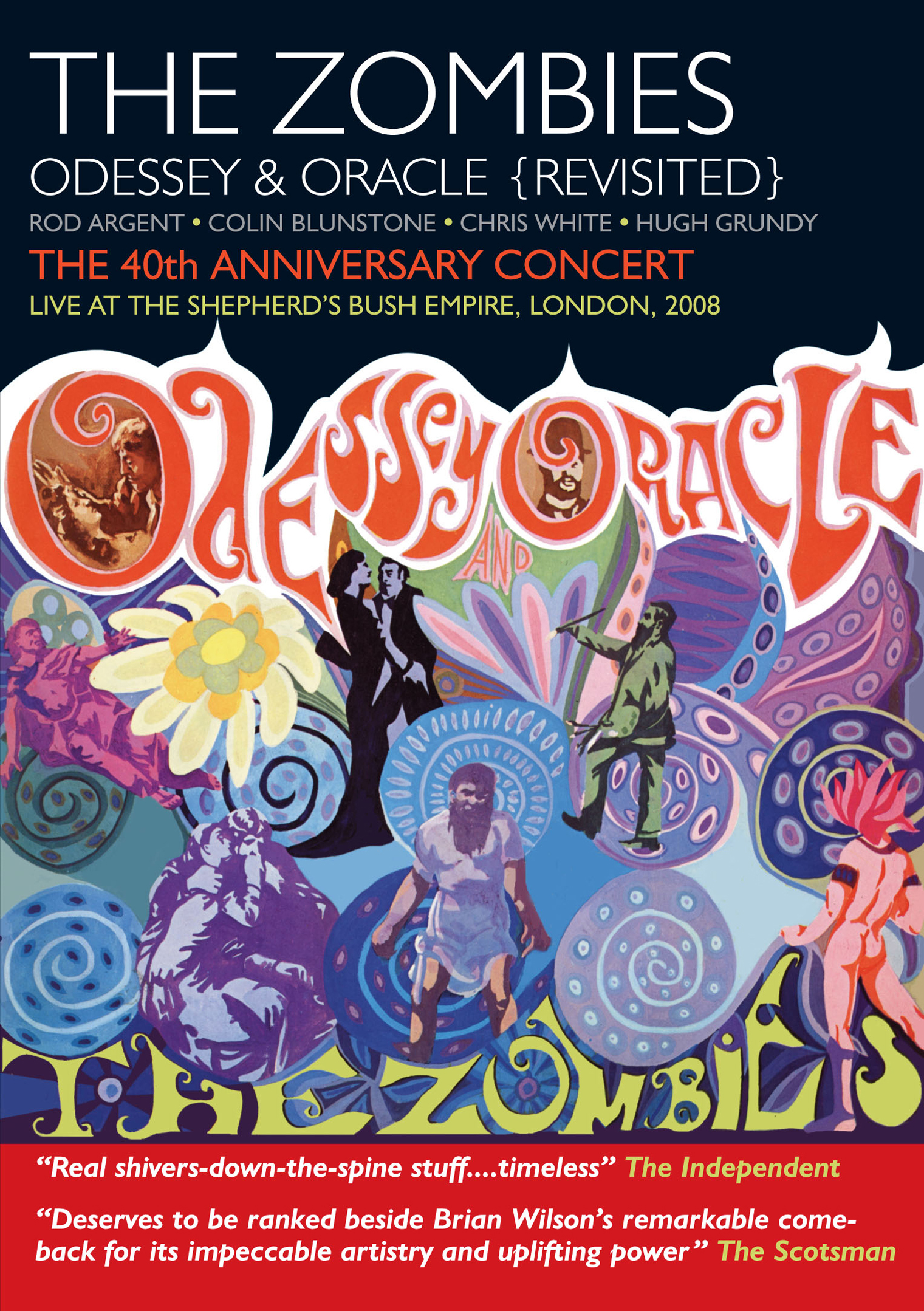 The Zombies Odessey And Oracle The 40th Anniversary
