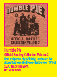 Humble Pie - Official Bootleg Collection Volume 2