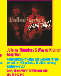 Johnny Thunders & Wayne Kramer - Gang War!
