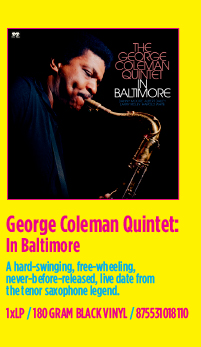 George Coleman Quintet - In Baltimore