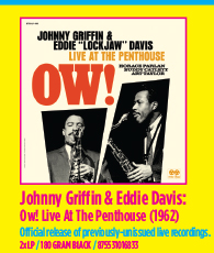 Johnny Griffin & Eddie Lockjaw Davis - Ow! Live At The Penthouse