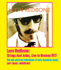 Leon Redbone - Strings And Jokes, Live In Bremen 1977