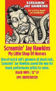 Screamin' Jay Hawkins - My Little Shop Of Horrors