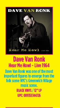 Dave Van Ronk - Hear Me Howl - Live 1964