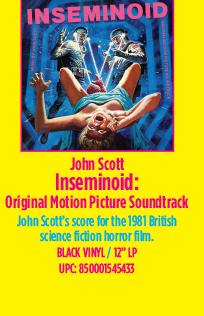 John Scott - Inseminoid: Original Motion Picture Soundtrack