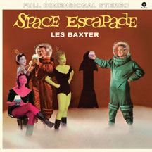 Les Baxter - Space Escapade + 4 Bonus Tracks!