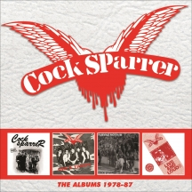 Cock Sparrer - The Albums 1978-87