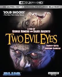 Two Evil Eyes (4K UHD Blu-ray)
