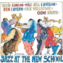Condon & Davern & Krupa - Jazz At the New School