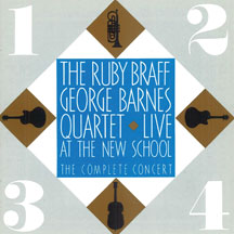 Ruby Braff & George Barnes - Live At the New School