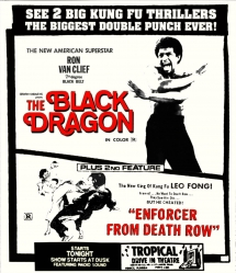 The Black Dragon + Enforcer From Death Row (Drive-In Double Feature #10)
