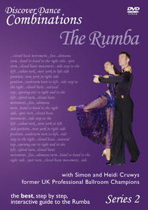 Discover Dance Combinations - The Rumba Series 2