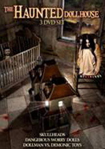 Haunted Dollhouse Collection 3 Disc Set