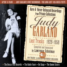 Judy Garland - Lost Tracks 1929-1959