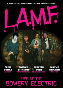 Lure, Burke, Stinson & Kramer - L.A.M.F.: Live At The Bowery Electric