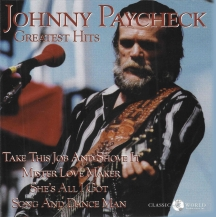 Johnny Paycheck - Greatest Hits