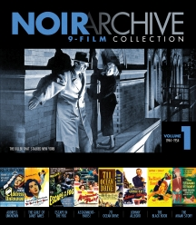 Noir Archive Volume 1: 1944-1954 (9 Movie Collection)