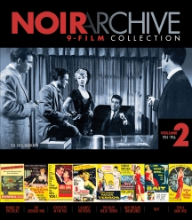 Noir Archive Volume 2: 1954-1956 (9-film Collection)