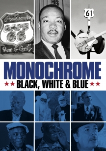 Monochrome: Black White & Blue