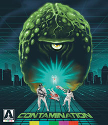 Contamination Blu Ray/DVD