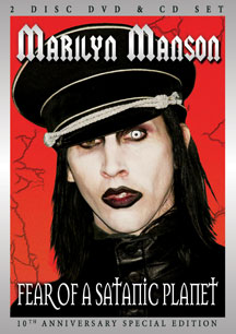 644d8001554 Marilyn Marilyn Manson - Fear Of A Satanic Planet (Special Edition) DVD CD