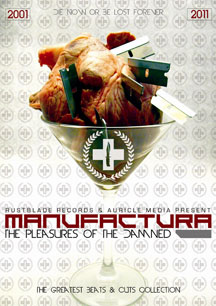 Manufactura - The Pleasures Of Damned (2001-2011) Limited Box 2CD