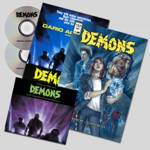 Claudio Simonetti - Demons Special Edition Double CD + Comic Book + Poster (Limited Edition)