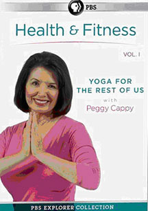 peggy cappy  yoga for the rest of us  mvd entertainment